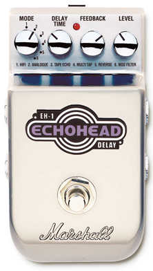 """Marshall  EH-1 """"Echohead"""" Stereo Delay"""