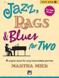 Martha Mier: Jazz Rags and Blues for two Nr.1