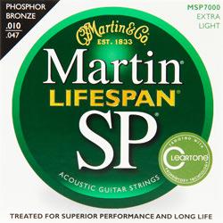 Martin MSP-7000 Lifespan Westerngitarren Saiten 10-47