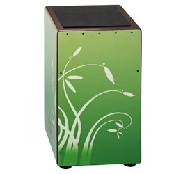 Meinl CAJ3WAF String Designer Cajon Willow Art Finish