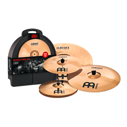 Meinl Cassic Custom Set 14 16 20 inkl. Case
