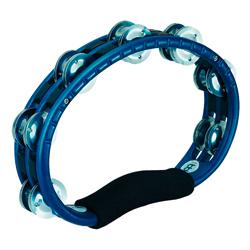 Meinl TMT1A-B ABS Tambourines blau Aluminiumschellen