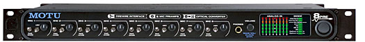 Motu 8pre FireWire-Audio-Interface