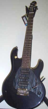Music Man Silhouette HSH Saphire Black RW MH