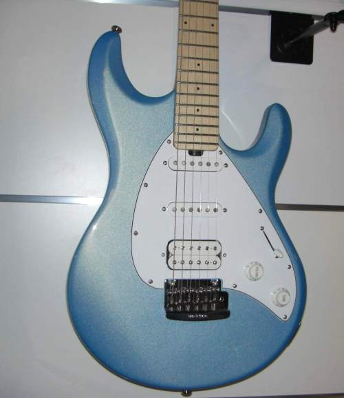 Music Man Silhouette Special HSS MN SB Sky Blue