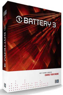 Native Instruments BATTERY 3 - Drum-Sampler