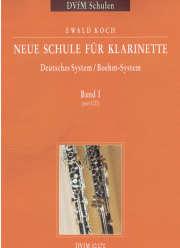 Neue Schule für Klarinette Bd.1 mit CD