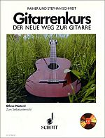Gitarrenkurs - Der neue Weg zur Gitarre + CD