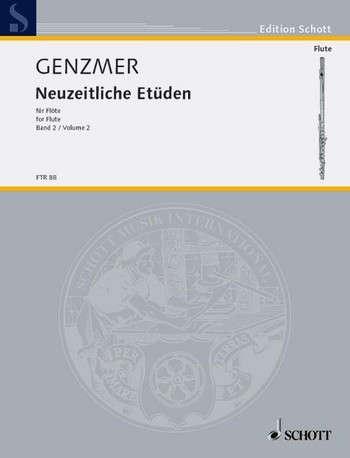 Neuzeitliche Etüden Bd.2 - Flöte