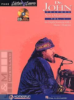 New Orleans Piano 1 - Dr. John Teaches mit CD