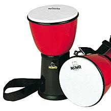 Nino Djembe ABS Drum Rot/Schwarz