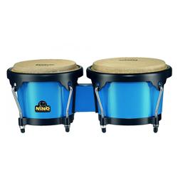 Nino NINO17B-BK ABS Bongos Plus Blau