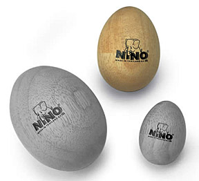 Nino Wood Egg Shakers Medium