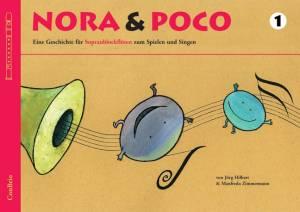 Nora und Poco 1 - für Sopranblockflöte