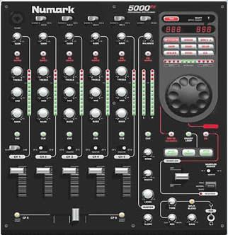 Numark 5000FX DJ Mixer