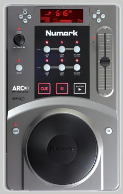 Numark Arc3 Scratch MP3/CD Player