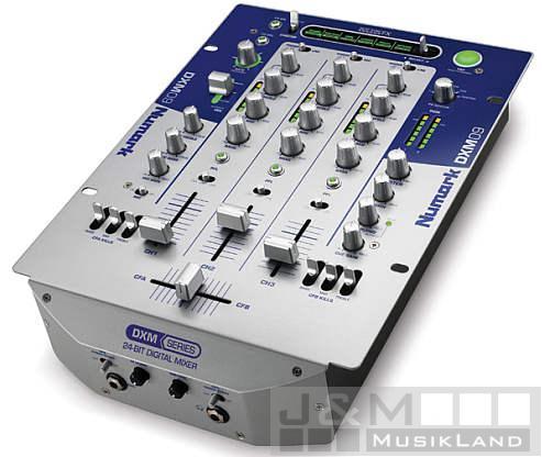 Numark DXM-09 digitaler 3-Kanal DJ Mixer