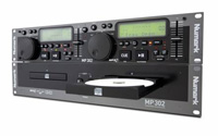 Numark MP-302 CD/MP3 DoppelPlayer