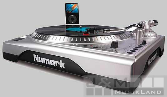 Numark TTi Turntable PitchControl & iPod-Dock