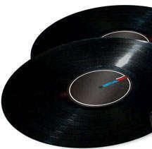 Numark Virtual Vinyl ErsatzVinyl Stück
