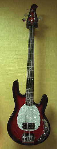 OLP MM-2 FH Stingray black cherry burst
