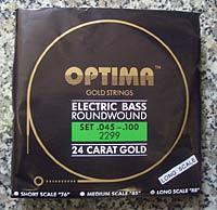 Optima Bass Saiten Satz Gold Strings 5-Saiter