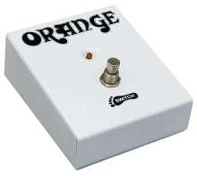 Orange Fußschalter
