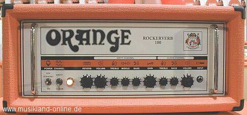 Orange Rockerverb 100 Topteil