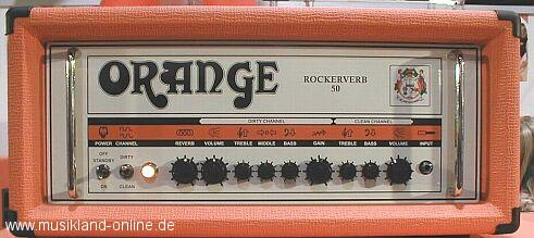 Orange Rockerverb 50 Topteil