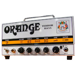 Orange Terror Bass Basstop