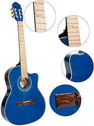 Ortega RCE-1415M-STB Konzertgitarre