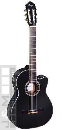 Ortega RCE-143 BK Konzertgitarre