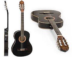 Ortega RE-135 SN BK Konzertgitarre