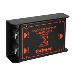 Palmer PAN-05 Mikrofon Mergebox