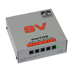 Palmer PWT05 Netzteil für Pedalboard 5 Ausgänge