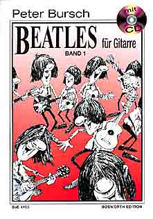 Peter Bursch - THE BEATLES FOR GUITAR, BD. 1