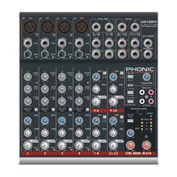 Phonic AM125FX Kompaktmixer