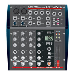 Phonic AM220P Kompaktmixer