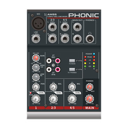 Phonic AM55 Kompaktmixer