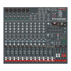 "Phonic AM642DUSB 19"" Rackmixer"