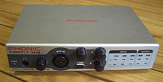 Phonic FireFly 302 Audio Interface mit MIDI