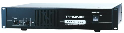 Phonic MAX-1500 Endstufe 2 x 450W an 4 Ohm