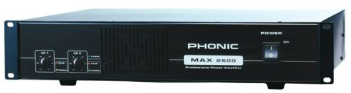 Phonic MAX-2500 Endstufe