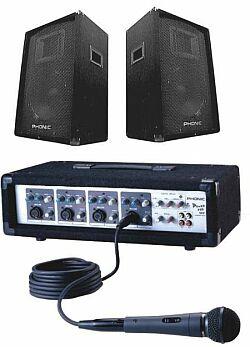 Phonic Powerpack 408 Komplett PA