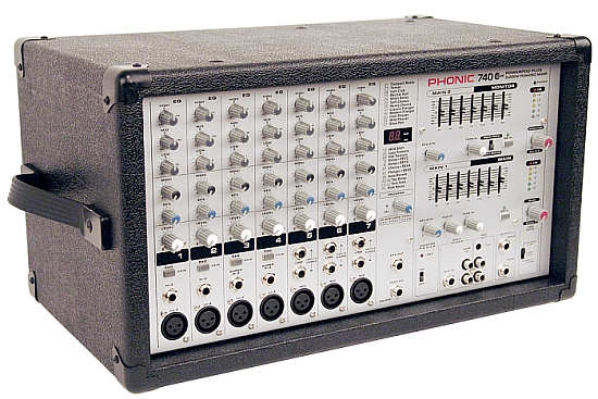 Phonic Powerpod 740 Plus Powermixer