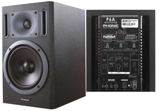 Phonic P6A Studiomonitor aktiv Stückpreis
