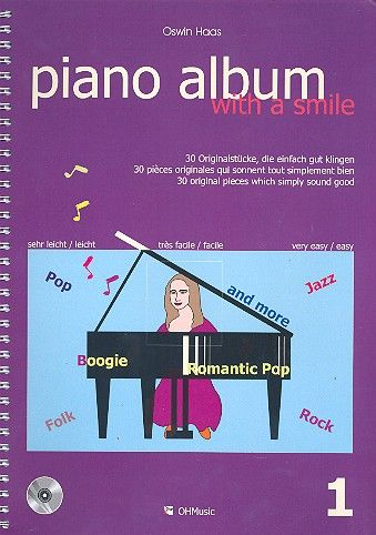 Piano Album with a Smile Band 1 (+CD)