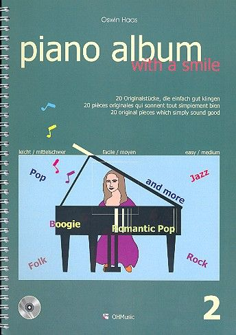 Piano Album with a Smile Band 2 (+CD)