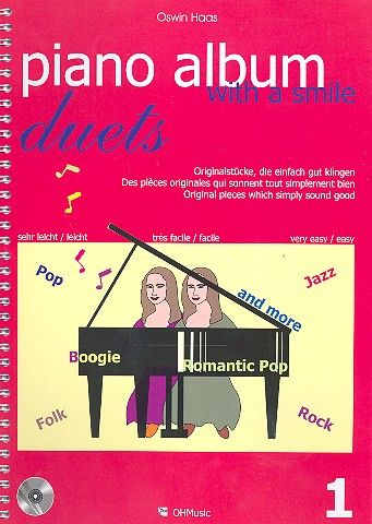 Piano Album with a Smile Duets Band 1