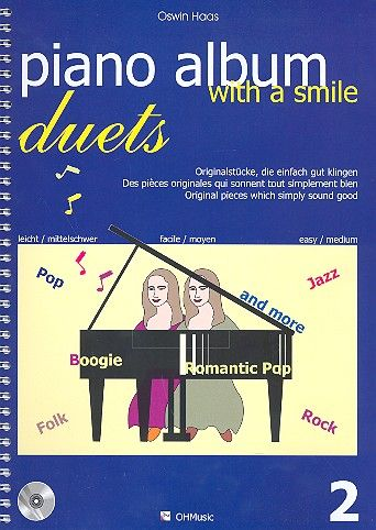 Piano Album with a Smile Duets Band 2